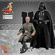 Hot Toys - Star Wars: A New Hope (MMS434) - Grand Moff Tarkin & Darth Vader (1/6th Scale Figures)