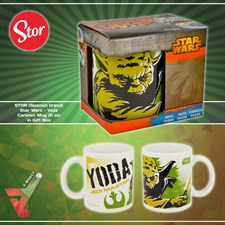 STOR (Spanish brand) - Star Wars - Yoda Ceramic Mug (11 oz) in Gift Box