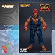 Storm Collectibles - Street Fighter V - Akuma (Arcade Edition) (1/12 Scale Figure)