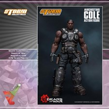 Storm Collectibles - Gears of War - Augustus Cole (1/12 Scale Figure)