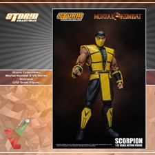 Storm Collectibles - Mortal Kombat 3 VS Series - Scorpion (1/12 Scale Figure)