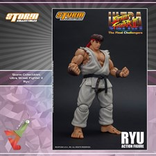 Storm Collectibles - Street Fighter II Ultra - The Final Challengers - Ryu (1/12 Scale Figure)