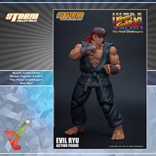 Storm Collectibles - Street Fighter II Ultra - The Final Challengers - Evil Ryu (1/12 Scale Figure)