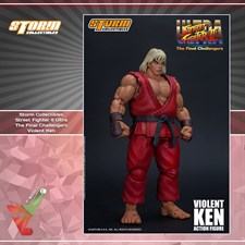 Storm Collectibles - Street Fighter II Ultra - The Final Challengers - Violent Ken (1/12 Scale Figur