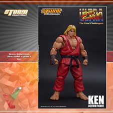 Storm Collectibles - Street Fighter II Ultra - The Final Challengers - Ken (1/12 Scale Figure)