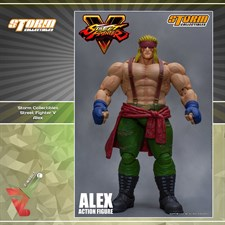 Storm Collectibles - Street Fighter V - Alex (1/12 Scale Figure)