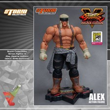 Storm Collectibles - Street Fighter V - Alex (Special Edition) (SDCC 2018 Exclusive) (1/12 Scale Fig
