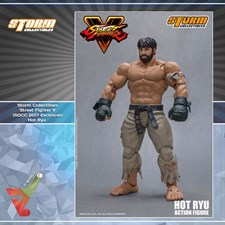 Storm Collectibles - Street Fighter V - Hot Ryu (1/12 Scale Figure) (NYCC 2017 Exclusive)