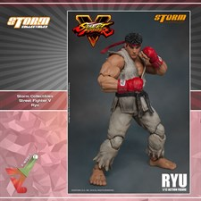 Storm Collectibles - Street Fighter V - Ryu (1/12 Scale Figure)