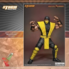 Storm Collectibles - Mortal Kombat VS Series - Scorpion (1/12 Scale Figure)