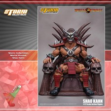 Storm Collectibles - Mortal Kombat VS Series - Shao Kahn (1/12 Scale Figure)