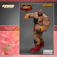 Storm Collectibles - Street Fighter V - Zangief (1/12 Scale Figure)