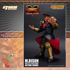 Storm Collectibles - Street Fighter V - M. Bison (Arcade Edition) (1/12 Scale Figure)