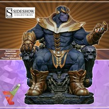 Sideshow Collectibles - Thanos on Throne - Maquette