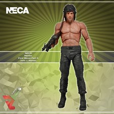 NECA - Rambo First Blood Part II - John J. Rambo