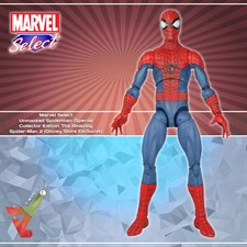 Marvel Select - Unmasked Spiderman (Special Collector Edition) From The Amazing Spider-Man 2 (Disney