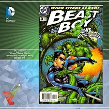 DC Comics: When Titans Clash! Beast Boy vs Night Wing (2000) #3