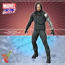 Marvel Select - Captain America: Civil War - Winter Soldier
