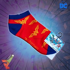 BioWorld - DC Comics - Wonder Woman Logo 2.0 - Ankle Socks (Unisex)
