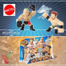 Mattel - WWE Rumblers: Slam City - Sheamus vs. Brock Lesnar (Set)