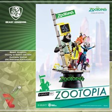 Beast Kingdom - Disney D-Select DS-001 - Zootopia Statue (PX Previews Exclusive)