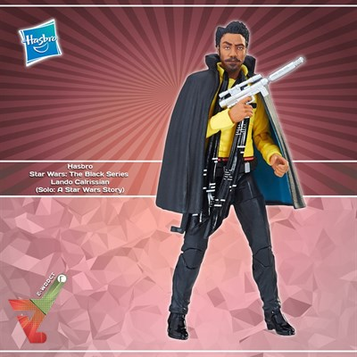 9da89b15 Hasbro Star Wars: The Black Series - Lando Calrissian (Solo: A Star Wars  Story)