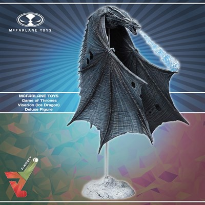 McFarlane Toys - Game of Thrones - Viserion (Ice Dragon